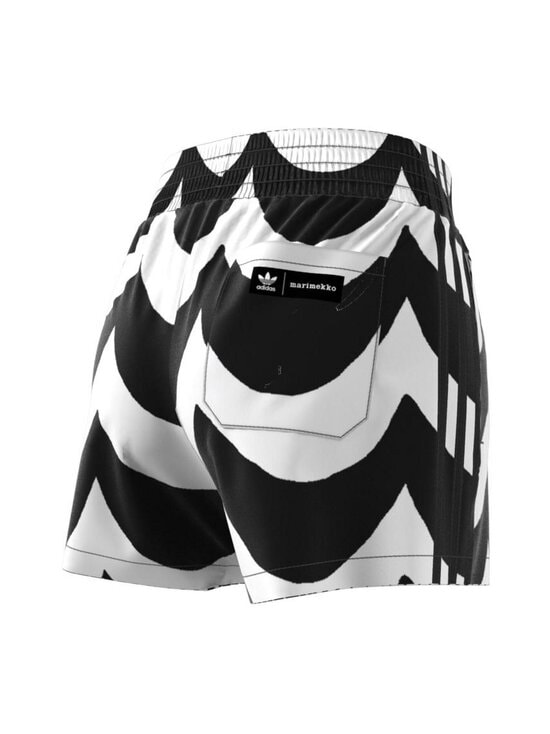 adidas x Marimekko - Short -shortsit - BLACK/WHITE BLACK/WHITE | Stockmann - photo 5