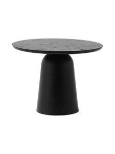 Normann Copenhagen - Turn Table -sohvapöytä, pyöreä ø 55 cm - BLACK | Stockmann
