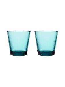 Iittala - Kartio-juomalasi 21 cl, 2 kpl - MERENSININEN   Stockmann