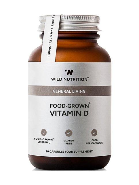 Food-Grown Vitamin D 30 -ravintolisä 30 kaps.