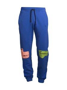 MARCELO BURLON - DBL Patch Regular -collegehousut - 4584 BLUE MULTI | Stockmann