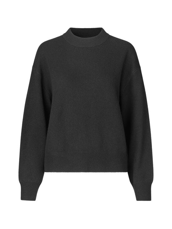 Samsoe & Samsoe - Amaris Crew Neck -villaneule - BLACK MEL | Stockmann - photo 1