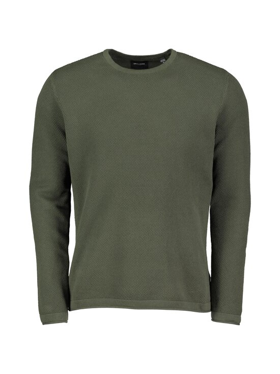 Only & Sons - OnsPanter Life 12 Struc Crew Knit -puuvillaneule - DEEP DEPTHS   Stockmann - photo 1