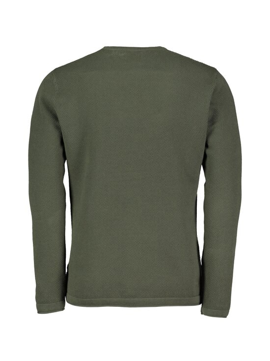 Only & Sons - OnsPanter Life 12 Struc Crew Knit -puuvillaneule - DEEP DEPTHS   Stockmann - photo 2