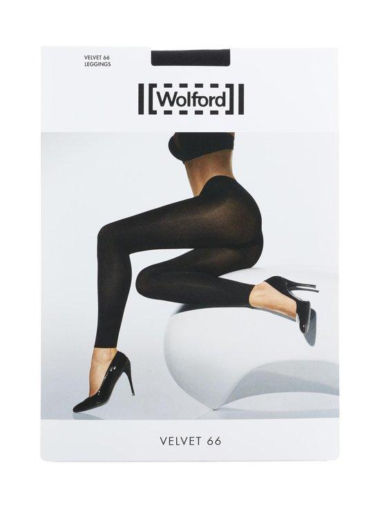 Wolford - Velvet 66 den -leggingsit - MUSTA | Stockmann - photo 1