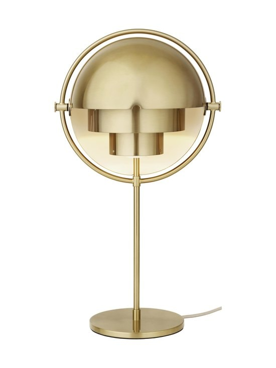 Gubi - Multi-Lite Table Lamp -pöytävalaisin - BRASS SHINY   Stockmann - photo 2