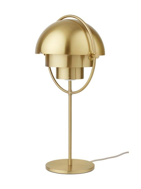Gubi - Multi-Lite Table Lamp -pöytävalaisin - BRASS SHINY   Stockmann - photo 4