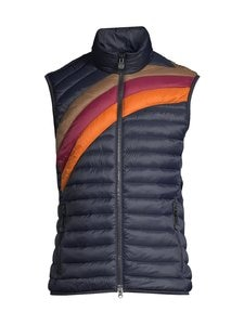 Marc O'Polo - Slow Down No Down -toppaliivi - 896 DARK BLUE WITH MULTICOLOR SUNSET STRIPES | Stockmann