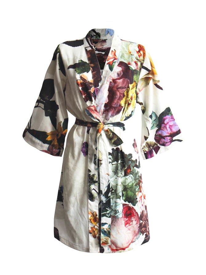 Kimono Fleur -aamutakki