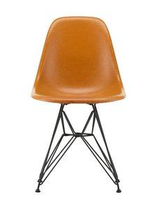Vitra - Eames DSR Fiberglass -tuoli - 30 BLACK/DARK OCHRE 08 | Stockmann