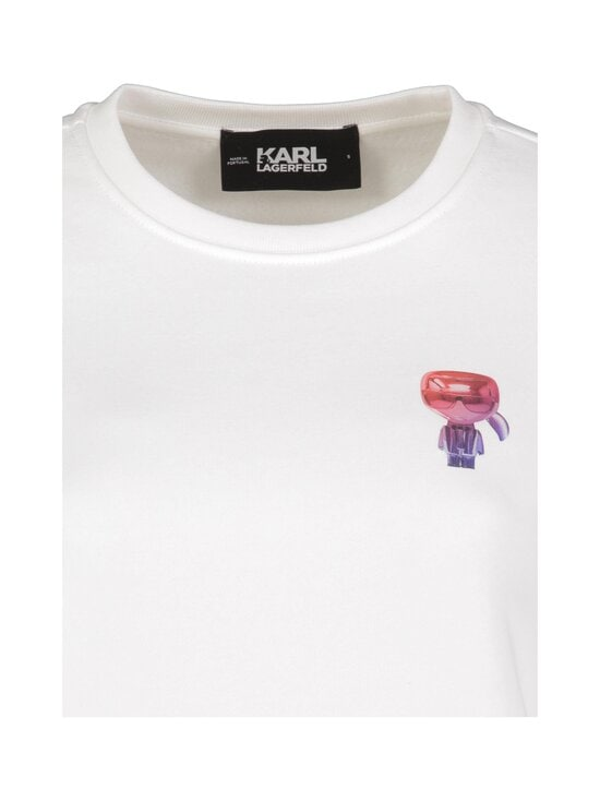 Karl Lagerfeld - Mini 3D Karl Sweatshirt -paita - WHITE   Stockmann - photo 3