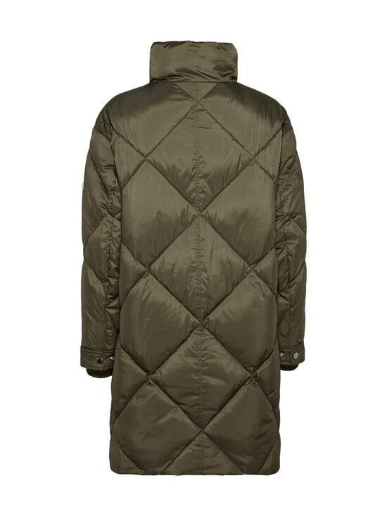 Tommy Jeans - TJW Diamond Quilted Coat -toppatakki - MSQ OLIVE TREE | Stockmann - photo 2
