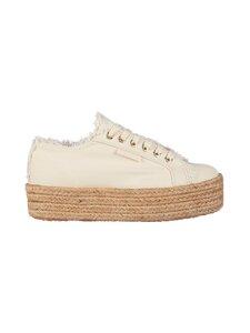 Superga - Fringed Cotton Rope -sneakerit - 394 BEIGE GESSO | Stockmann