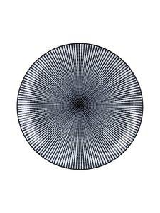 Tokyo Design Studio - Sendan-lautanen 21,5 cm - MUSTA/VALKOINEN | Stockmann