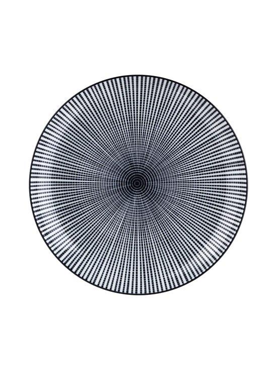 Tokyo Design Studio - Sendan-lautanen 21,5 cm - MUSTA/VALKOINEN | Stockmann - photo 1
