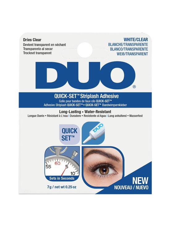 Ardell - DUO Quick Set Strip Lash Glue -ripsiliima 7 g - CLEAR   Stockmann - photo 1