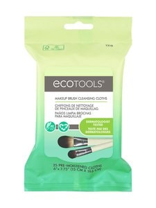 Eco Tools - Makeup Brush Cleansing Cloths -meikkisiveltimien puhdistusliinat 25 kpl - null | Stockmann