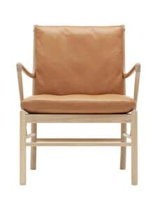 Carl Hansen&Son - OW149 Colonial -tuoli - SIF95 OAK SOAP-BROWN LEATHER | Stockmann