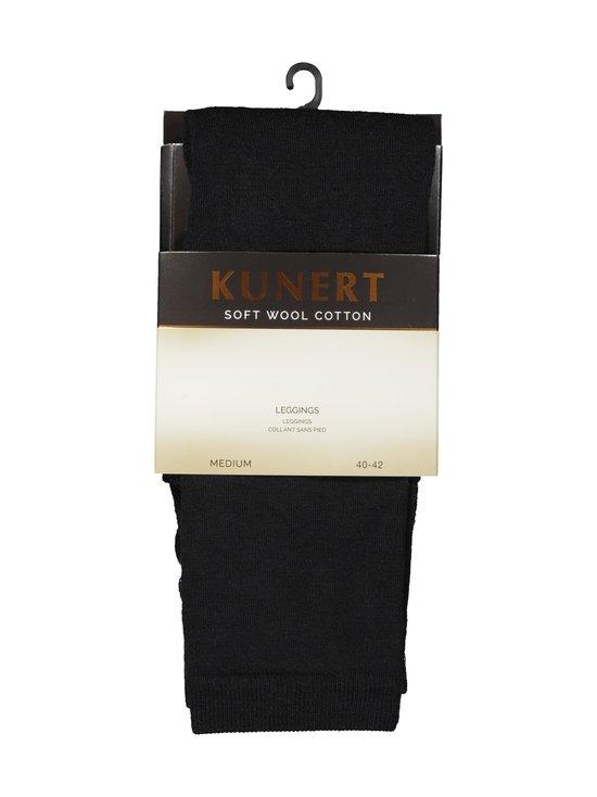 Kunert - Soft Wool Cotton -leggingsit - BLACK | Stockmann - photo 1