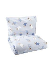 Pentik - Pikkunallet- vauvan pussilakanasetti 85 x 125 + 36 x 46 cm - LIGHT BLUE | Stockmann