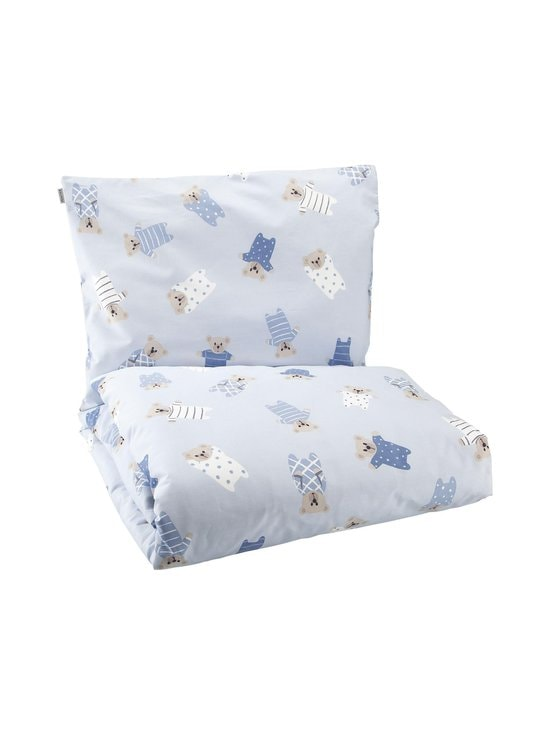Pentik - Pikkunallet- vauvan pussilakanasetti 85 x 125 + 36 x 46 cm - LIGHT BLUE | Stockmann - photo 1