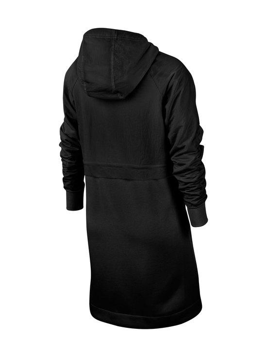 Nike - Sportswear Older Kids' Fleece Parka -takki - BLACK/BLACK/ATMOSPHERE GREY   Stockmann - photo 2