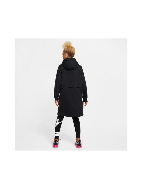 Nike - Sportswear Older Kids' Fleece Parka -takki - BLACK/BLACK/ATMOSPHERE GREY   Stockmann - photo 4