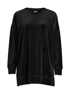 NOOM loungewear - Vienna velour -pyjamatunika - BLACK   Stockmann
