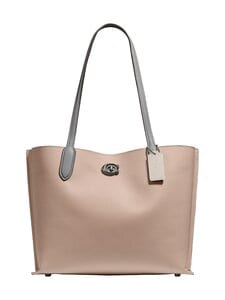 Coach - Willow Tote -nahkalaukku - V5/TAUPE MULTI | Stockmann