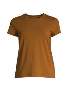 Casall - Logo Tee -paita - SEPIA BROWN 228 | Stockmann
