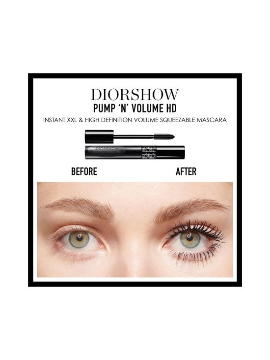 DIOR - Diorshow Pump 'N' Volume Mascara -ripsiväri 6 g - 090 BLACK PUMP   Stockmann - photo 4