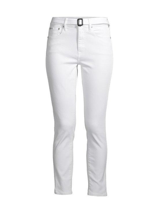 Polo Ralph Lauren - The Tompkins Skinny High Rise Ankle -farkut - 2WCF WHITE | Stockmann - photo 1