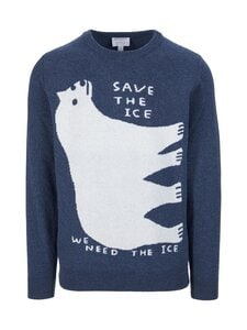 Sunspel - David Shrigley Polar Bear Jumper -villaneule - BUNA | Stockmann
