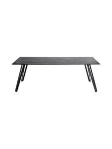 Muubs - Space-ruokapöytä 220 x 100 cm - BLACK STAIN | Stockmann