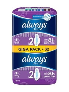 Always - Ultra Long Plus Giga Pack -terveysside 32 kpl - null | Stockmann