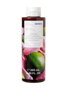 Korres - Ginger Lime Body Cleanser -suihkugeeli 250 ml | Stockmann