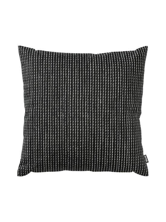 Artek - Rivi-tyynynpäällinen 40 x 40 cm - MUSTA/VALKOINEN | Stockmann - photo 1