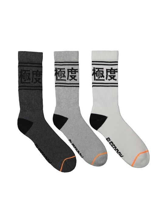 Superdry - Trophy Crew -sukat 3-pack - F0F CHARCOAL MULTIPACK | Stockmann - photo 1