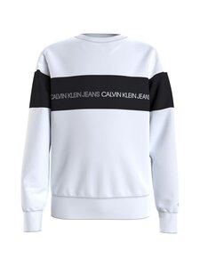 Calvin Klein Kids - Colour Block Logo -collegepaita - YAF BRIGHT WHITE | Stockmann