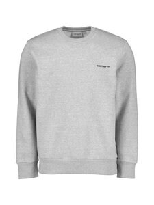 Carhartt WIP - Script Embroidery Sweatshirt -collegepaita - GREY HEATHER / BLACK | Stockmann