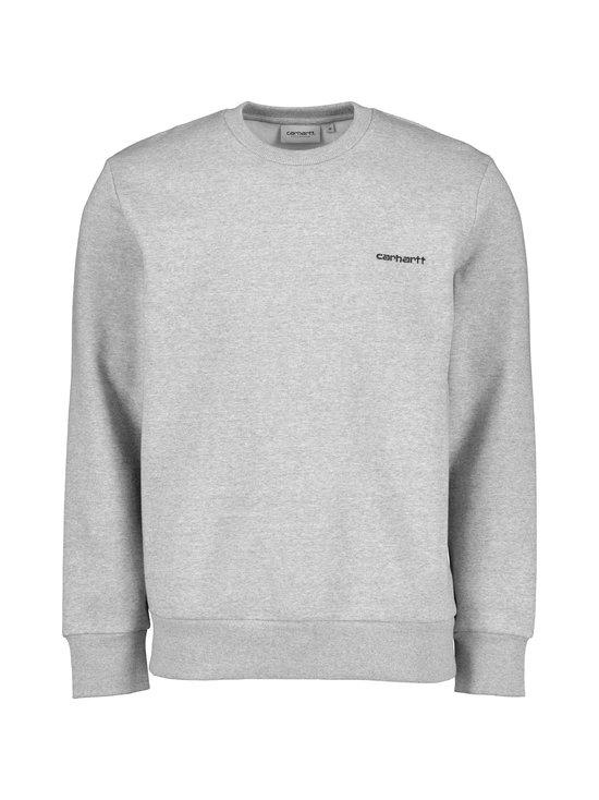 Script Embroidery Sweatshirt -collegepaita