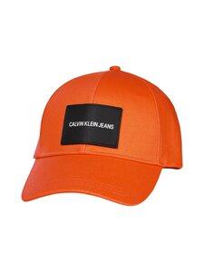 Calvin Klein Bags & Accessories - PATCH CAP -lippalakki - SEA VIVID ORANGE   Stockmann