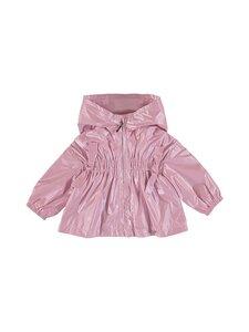 Mayoral - Windbreaker girls wrinkled hood -takki - 54 PINK | Stockmann