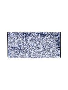 Tokyo Design Studio - Kiku-lautanen 23 x 11,5 cm - SININEN | Stockmann