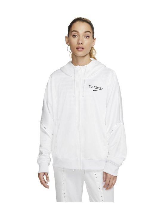 Nike - Full-Zip Hooded Jacket -takki - 100 WHITE/WHITE/WHITE/BLACK   Stockmann - photo 1