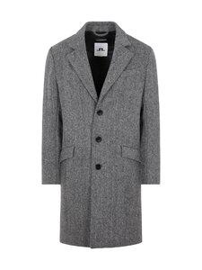 J.Lindeberg - Willem Herringbone Wool Coat -villankangastakki - 9116 GRANITE   Stockmann