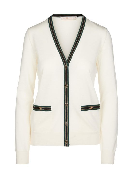 Tory Burch - Color-Block Madeline -merinoneuletakki - 172 IVORY CBO | Stockmann - photo 1