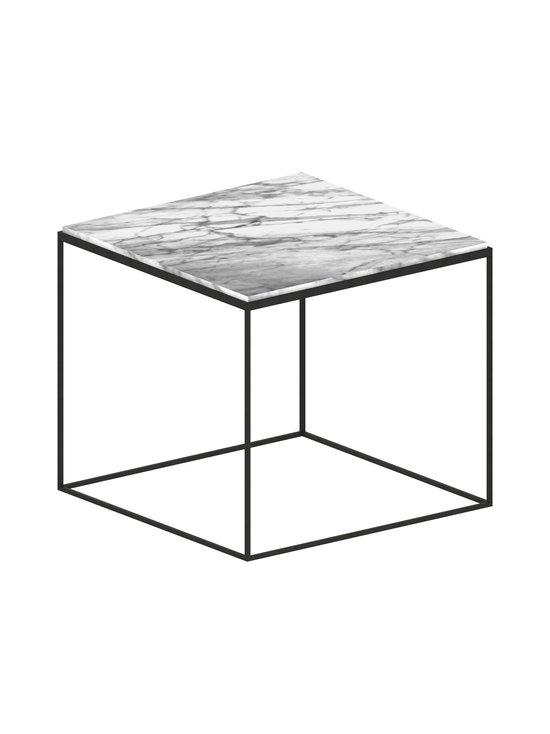 ZEUS - Slim Marble -pöytä - MUSTA/VALKOINEN   Stockmann - photo 1