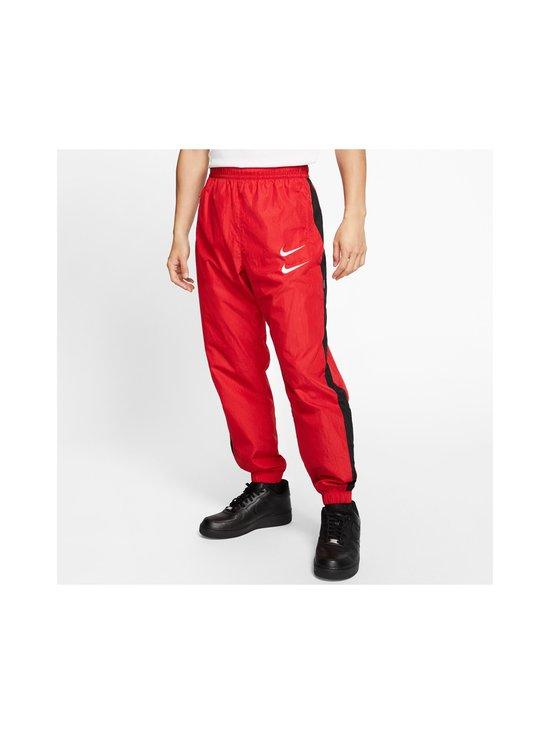 Nike - Swoosh Woven -housut - 657 UNIVERSITY RED/BLACK/WHITE | Stockmann - photo 3