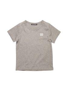 Acne Studios - Mini Nash Face T-shirt -paita - LIGHT GREY MELANGE X92 | Stockmann